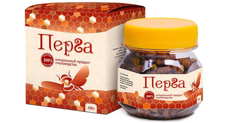 Пчелиная перга: применение в лечении и профилактике